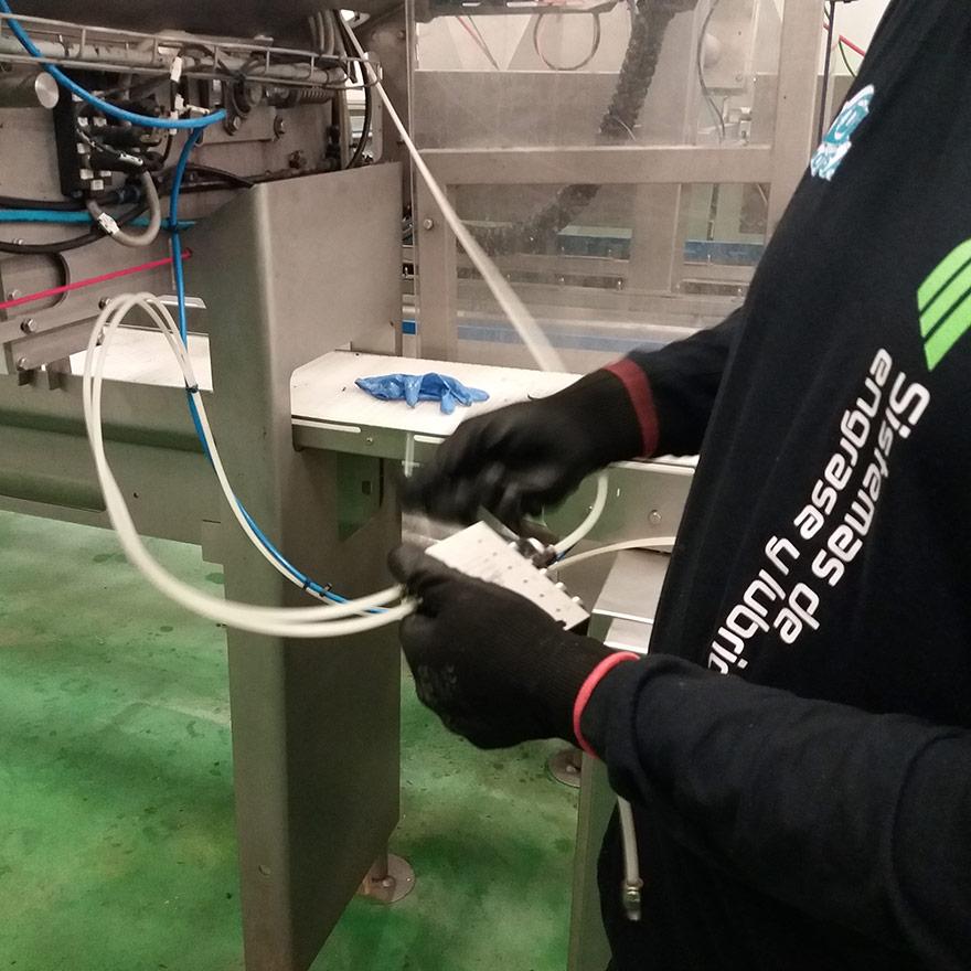 Engrase Industrial Mantenimiento de las instalaciones