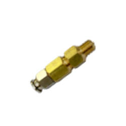 COAXIAL NOZZLE WITH HEAD THREADED AND SHAPE SPRAY